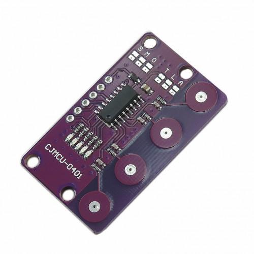 ماژول سنسور خازنی تاچ  4 تایی محصول CJMCU